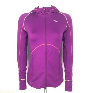 Saucony Magenta Run Warm Full Zip jacket